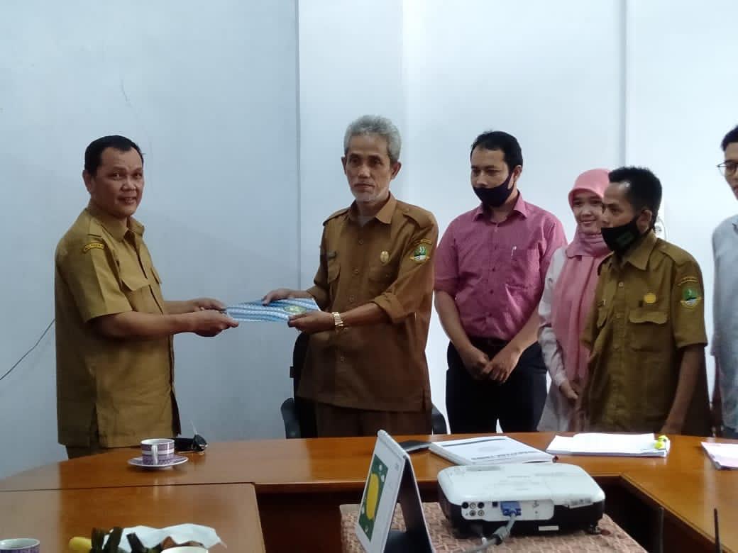 Penyerahan SK Kompetensi Keahlian Baru Dari Gubernur Jawa Barat